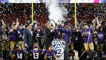 Huskies beat Utah 10-3 for Pac-12 title; advance to Rose Bowl