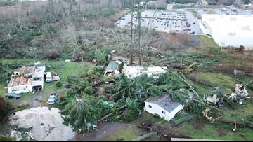 Around 250 homes damaged during tornado in Kitsap County