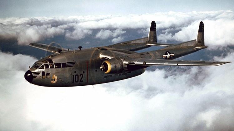 """Fairchild C-119 """"Flying Boxcar """""""