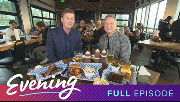 Thurs 1/9, Briley's BBQ in Lake Forest Park, Full Episode, KING 5 Evening