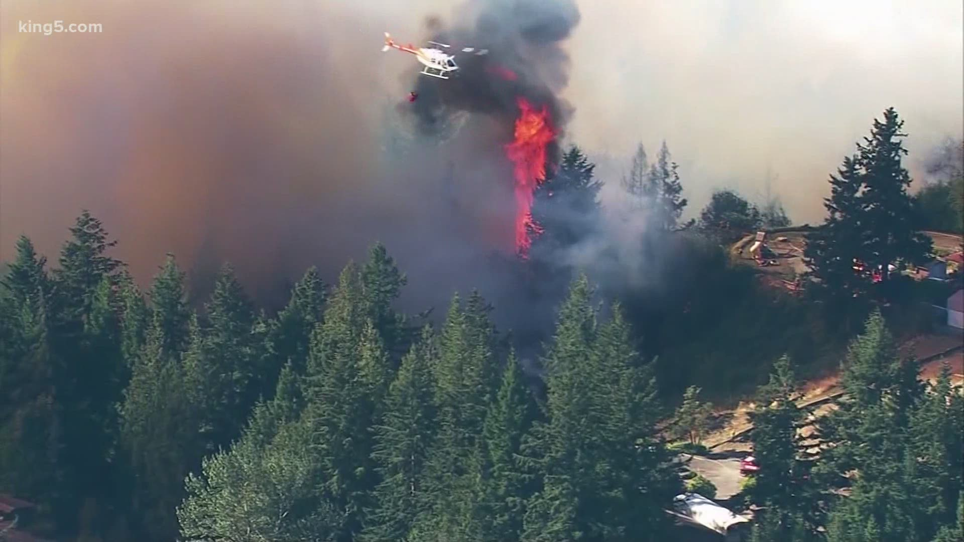 Level 3 Fire Evacuations For Parts Of Bonney Lake And
