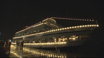 Enjoy Argosy Cruises' Christmas Ship Festival from ship or shore