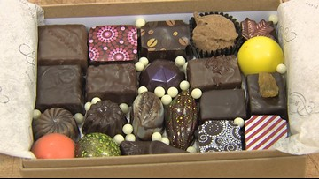 Indulge in hand-crafted chocolate from Seattle-based Bakery Nouveau