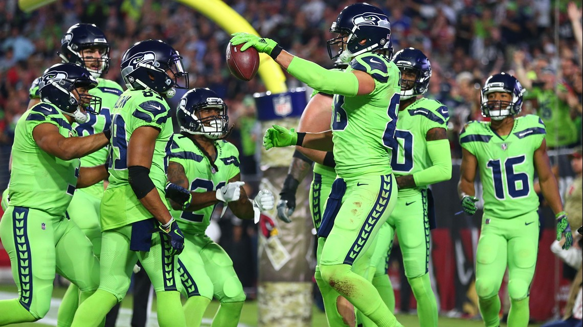 Seahawks will wear Action Green uniforms for Monday Night Football ...