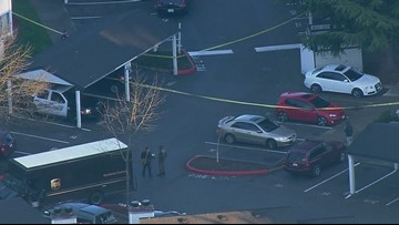 Suspect taken to hospital after Kent officer-involved shooting