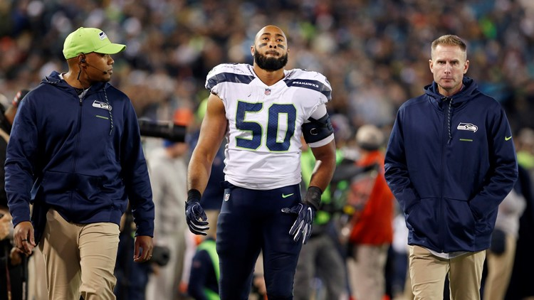 Linebacker K.J. Wright could return in time for Week 16 vs. Chiefs