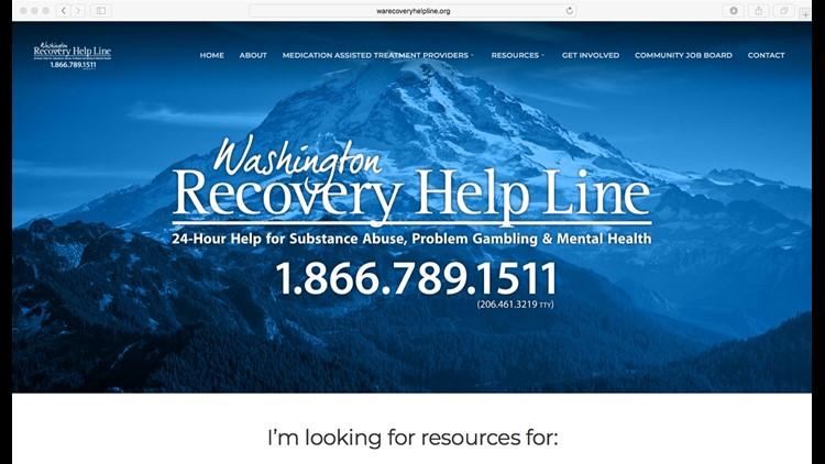 Washington Recovery Help Line