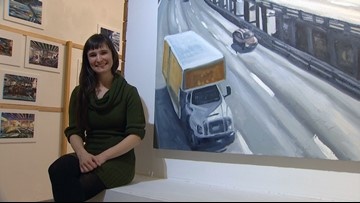 Seattle viaduct exhibit showcases shared experiences before closure