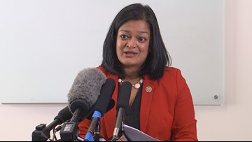 Jayapal reacts to migrant caravans after US-Mexico border visit