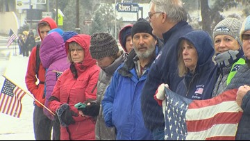 Crowds pause to honor Leavenworth soldier killed in Afghanistan