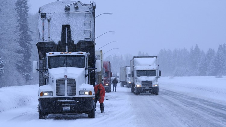 Follow chain-up requirements on Snoqualmie Pass or face a $500 fine