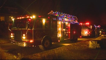 Fire truck food drive to visit Tacoma, Kenmore