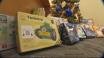 Aerospace group gifts toys that inspire STEM careers