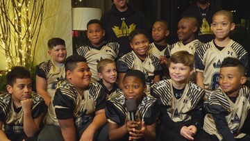 Youth football team headed to national championship in Ohio