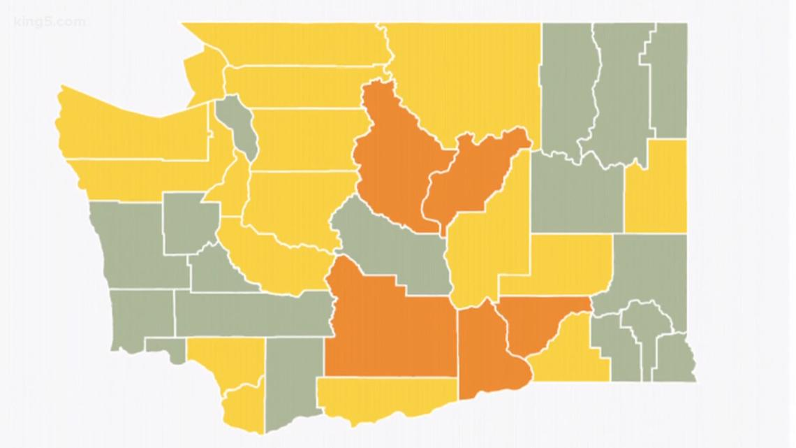 Washington goals to keep away from re-tightening coronavirus restrictions like a number of different states - KING5.com thumbnail