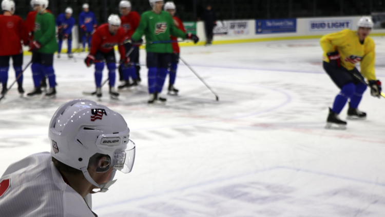 USA Hockey brings national team training camp to Everett