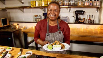 Chef Makini Howell goes south of the border with her vegan quesadillas - Makini's Kitchen