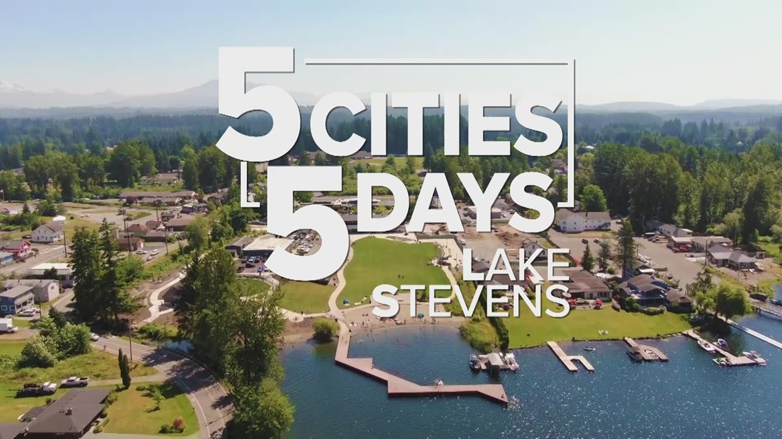 5 Cities in 5 Days: Lake Stevens from above