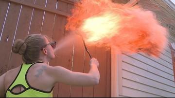 Everett based American Ninja Warrior is on fire