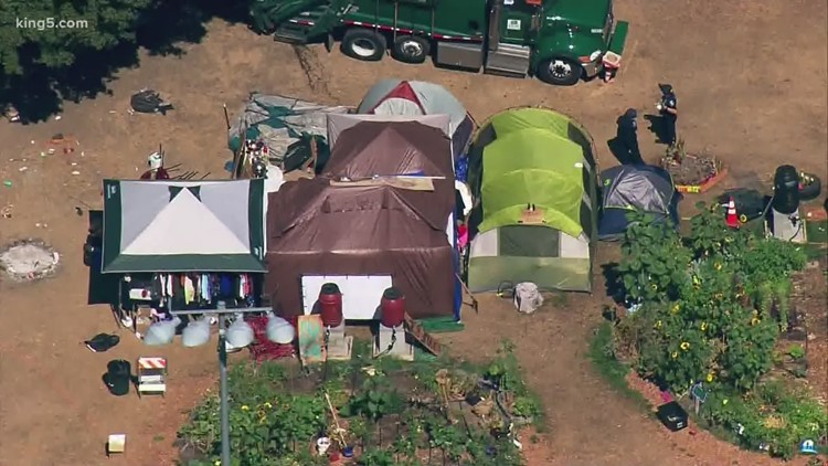 Unhoused Seattle woman settles with city for $10,000 over sweep of Cal Anderson Park