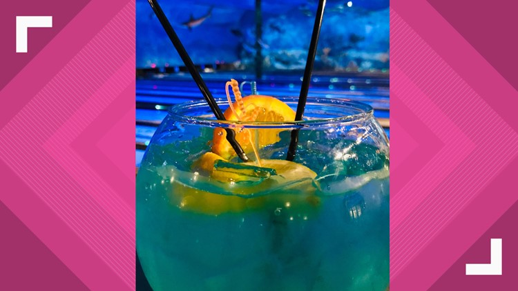 fishbowl cocktail