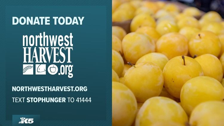 Help us raise $5 million for Northwest Harvest