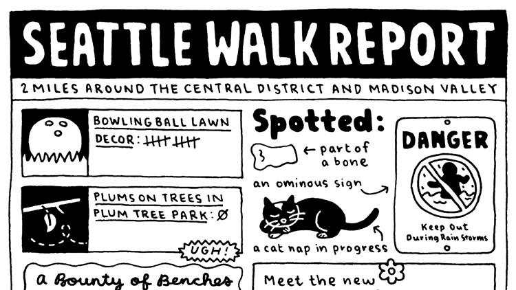 Seattle Walk Report 2