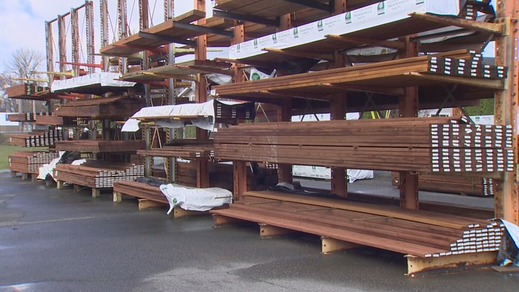 Skyrocketing lumber prices drive up homebuilding costs in Washington
