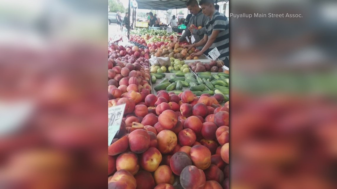 Puyallup Farmer's Market returns, organizers hoping for a better year