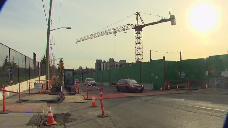 Downtown Seattle saw record construction growth in 2018