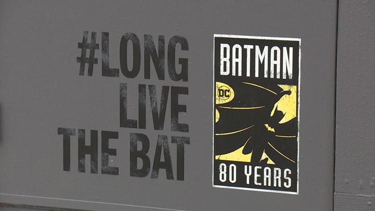 Batman Mural