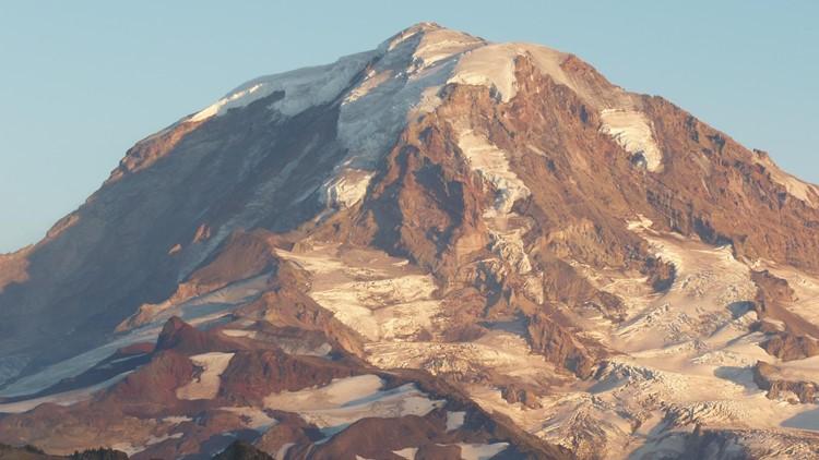 Was Mount Rainier's snowmelt worse this year than normal?