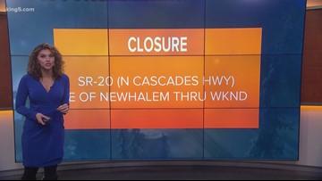 Weekend traffic closures around Puget Sound for Jan. 25-26