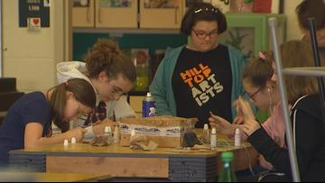 Tacoma glass blowing studio exposes at-risk kids to art