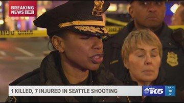 Police update Seattle shooting situation that started as a dispute