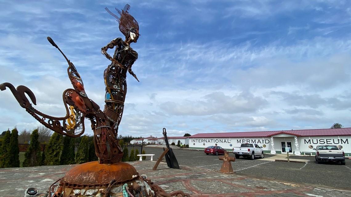 Nation's first Mermaid Museum opens near Westport