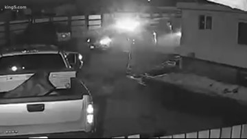 Surveillance video shows moments before deadly shooting of Kittitas deputy