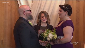 Tacoma's gritty little wedding chapel - KING 5 Evening