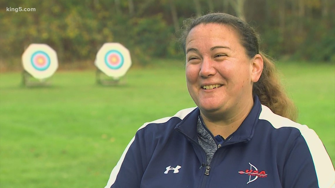 Olympic Dreams: Bothell's Erin Mickelberry aims for a spot on the USA Archery Team