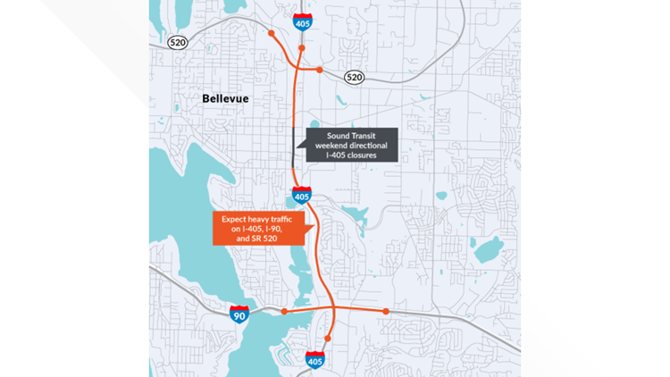 I-405 closure