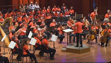 Seattle Symphony plays composition written by Kirkland 5th graders