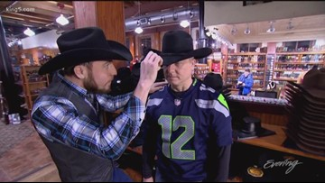 Jim gets Booted 'Behind Enemy Lines' - KING 5 Evening