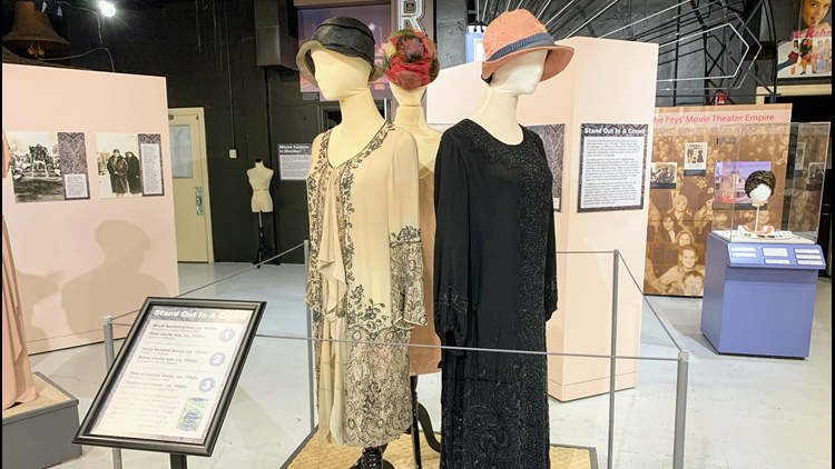 The new exhibit Sparkle highlights Renton's fashion history