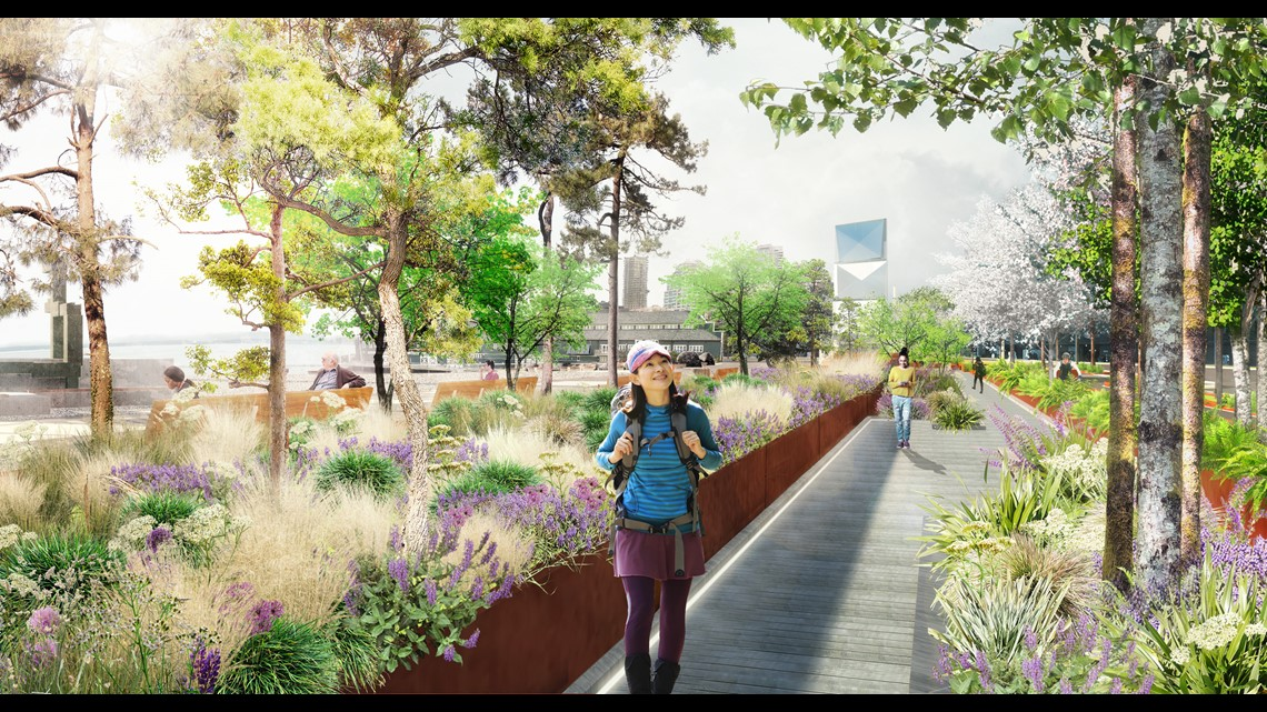 Upgrades planned for Seattle waterfront