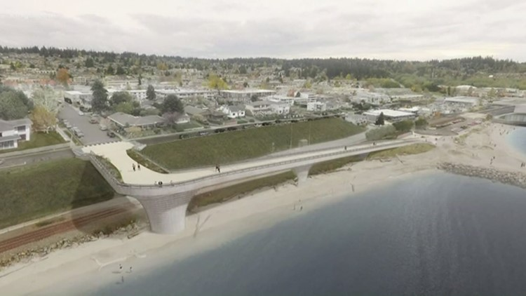 Controversial overpass proposed along Edmonds waterfront