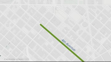 Sounders 2019 MLC Cup victory parade route
