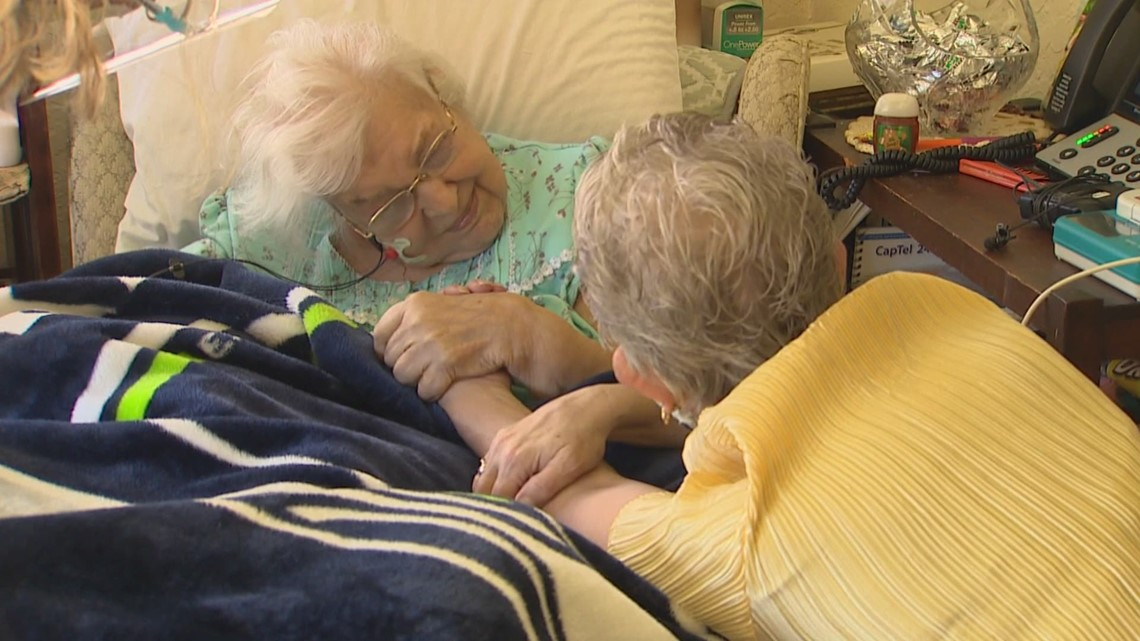 After months of waiting, 95-year-old Edmonds woman finally gets COVID-19 vaccine