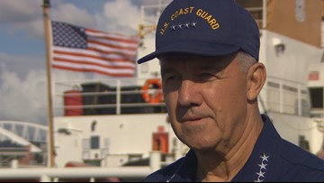 Coast Guard's top officer visits Seattle to talk about port growth and icebreakers