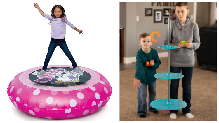 Toys that keep your kids moving indoors and out