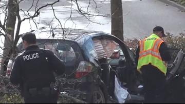 Woman killed, boy injured in Federal Way crash after fleeing police